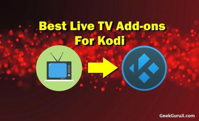 best Kodi Addons for Live TV streaming