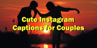 Cute Instagram Captions for Couples
