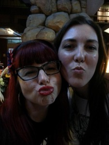 Duckfaces for days [feat. Editor Amy and Kelly Sue DeConnick].