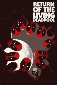Return of the Living Deadpool #1, Cover by Jay Shaw