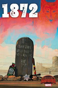1872 #1 Cover by Alex Maleev. Marvel Entertainment.