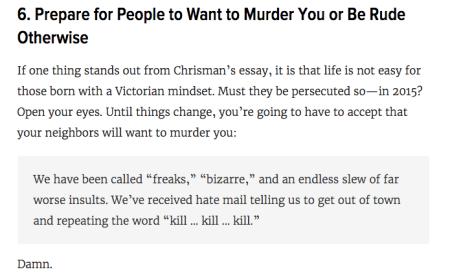 Gawker.com likes victim blaming