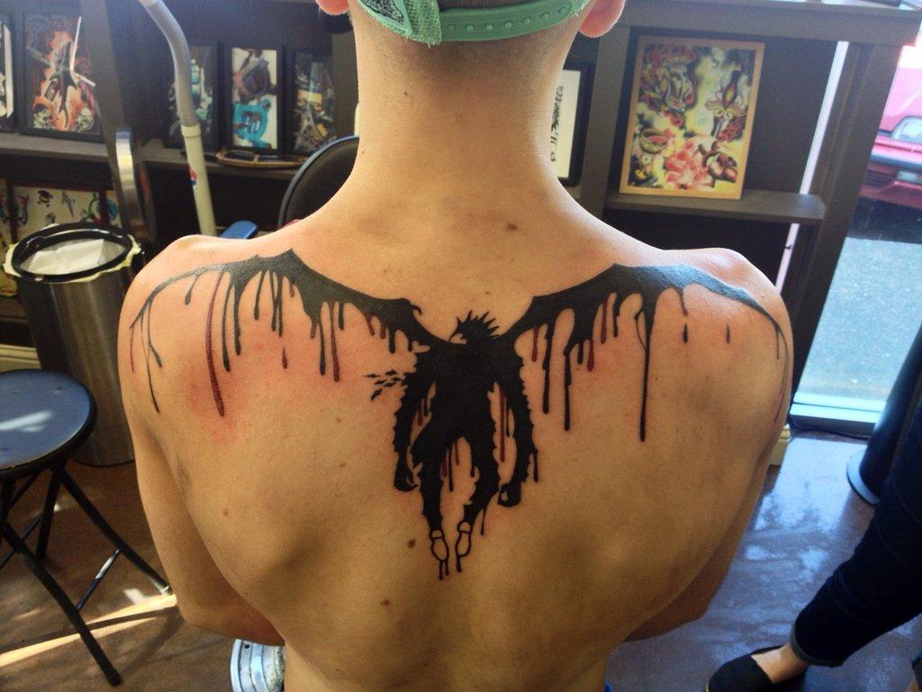 http://www.deviantart.com/art/Death-Note-Tattoo-464309912