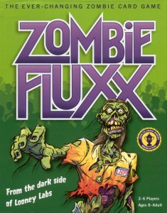 This version is the most popular with my teens, perhaps because they're into anything zombie. With ever changing rules and goals, games can take a while if players aren't paying attention- but that makes it all the more fun!