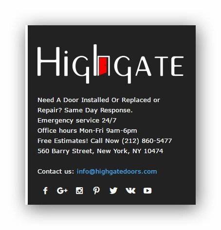 Web Design For door repair company