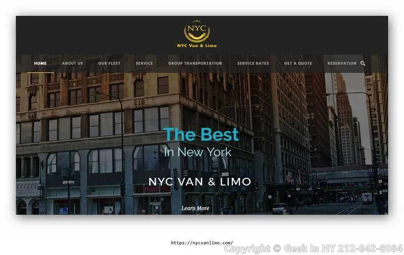 limousine website templates
