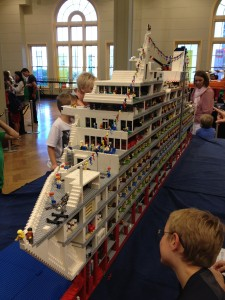 Loveboat at Sydney Brick Show