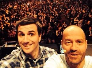 adam spender selfie