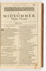 midsomers night dream