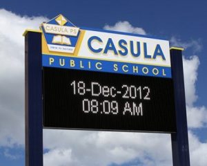 casula_public_school_led_sign