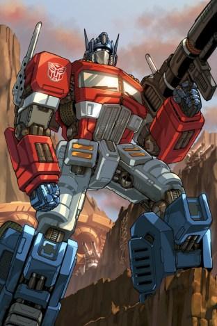 IDW Transformers Optimus Prime