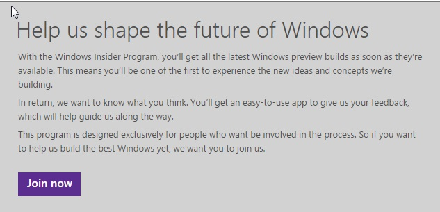 Windows 10 Preview Available Now