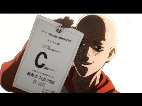 Saitama a C Class Hero
