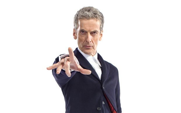 Capaldi as the Twelfth Doctor