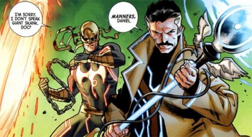 Doctor Strange and Iron Fist