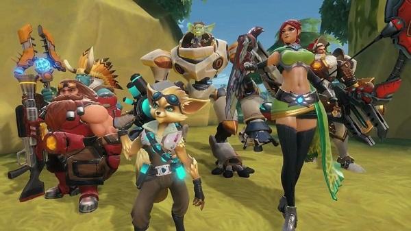 Paladins Champions character roster