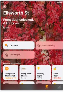 Control Your SmartHome With..... Home