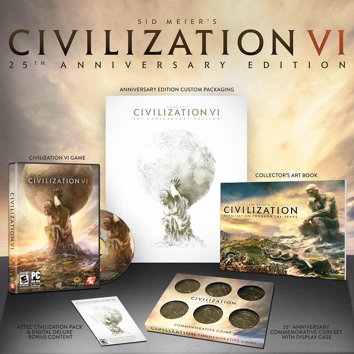Civilization VI 25th Anniversary
