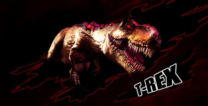 jurassic park arcade t-rex