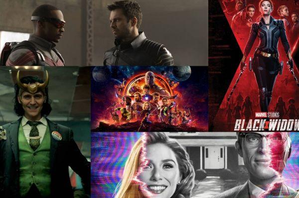 Marvel volgorde tot en met MCU Phase 4