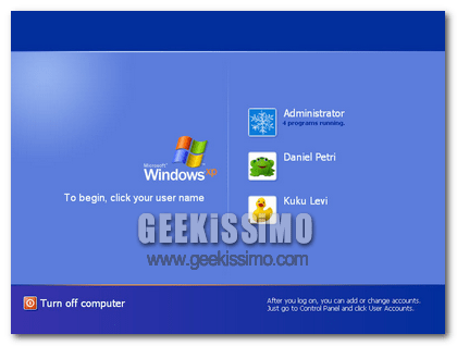 Collegarsi a Windows automaticamente senza dover scegliere utente e immetere password