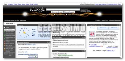 iGoogle Agosto 2009