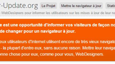 Photo of Browser Update: une notification de compatibilité des navigateurs pour votre site web