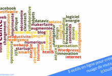 Photo of 5 outils en ligne pour créer un nuage de mots-clés (cloudtags)