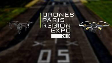 Photo of Drones Paris Region Expo 2018