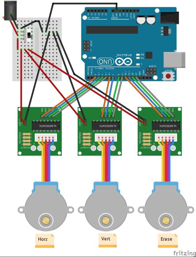 EtchABot wiring diagram