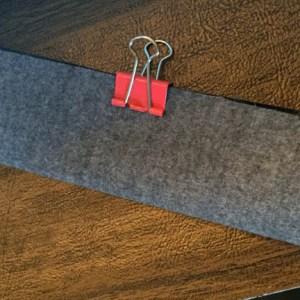 Fold strap widthwise