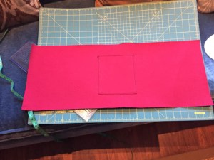Sew pocket to lining on 3 sides.