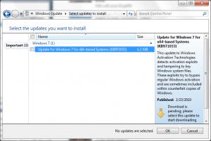 Windows Activation Checker KB971033