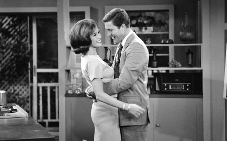Laurie & Rob Petrie (Mary Tyler Moore and Dick Van Dyke)