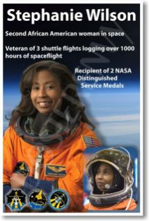 Stephanie Wilson spent 42 days in space-the most of any African-American astronaut