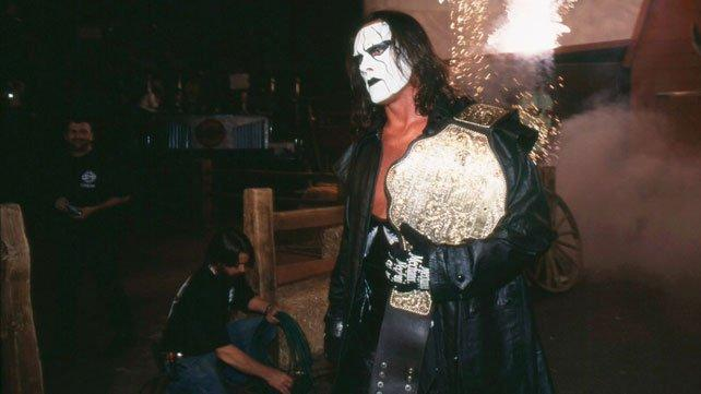 WCW Champion Pro Wrestling Icon Sting