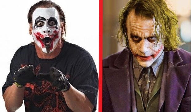 Sting with Joker gimmick