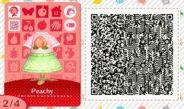 Patrón vestido Animal Crossing
