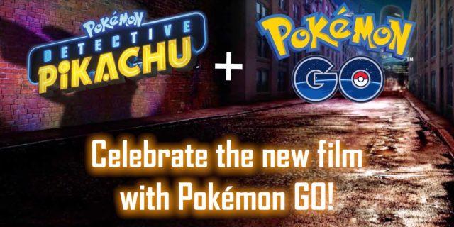 Pokemon GO – Du contenu Détective Pikachu !