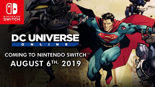 DC Universe Online – La version Switch arrive bientôt