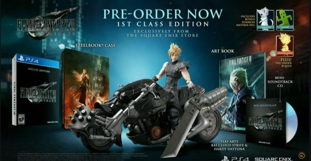 Final Fantasy VII First class edition