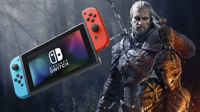Nintendo Switch The Witcher 3