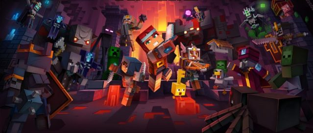 Minecraft Dungeons – Double Eleven s'associe avec Mojang