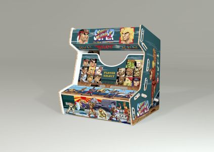 arcade mini street fighter 5