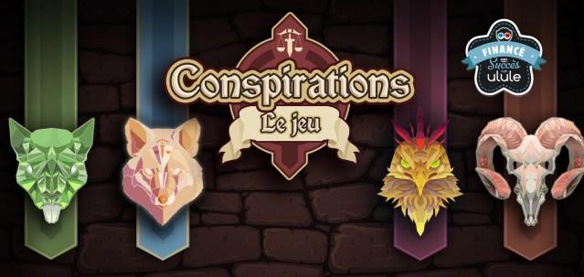 Conspirations – Un jeu de société à essayer !