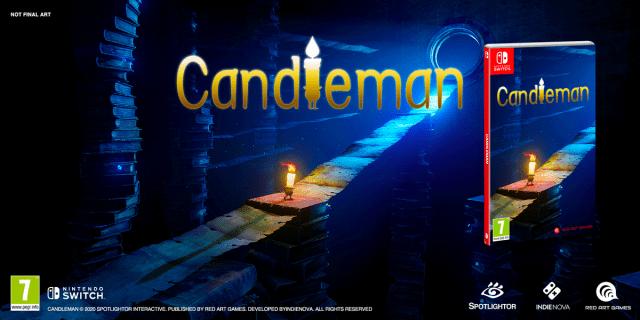 Candleman – Un trailer et une version physique disponible en précommande