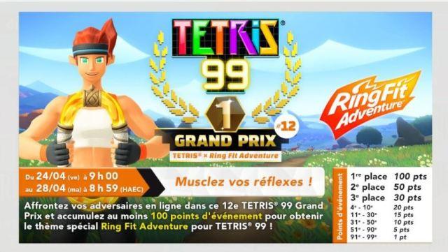 tetris 99 ring fit 12e grand prix
