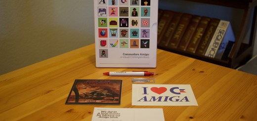 The Amiga Visual Compendium Kickstarter package.