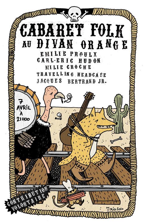 Cabaret-Folk-Divan-Orange-Montreal-Affiche-Iris-2-Geekorner