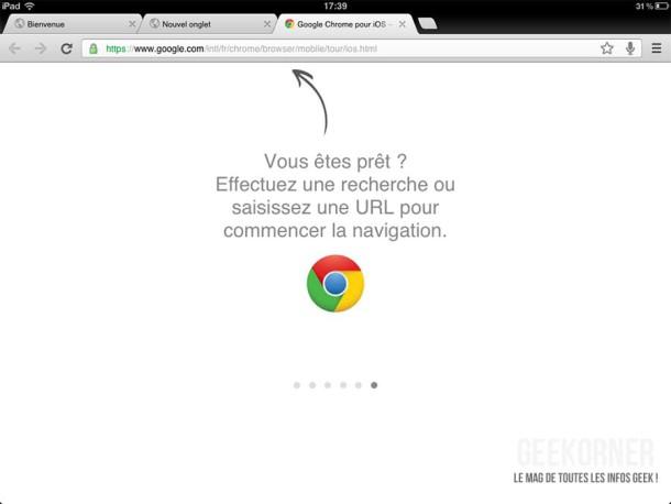 Google Chrome iPad16